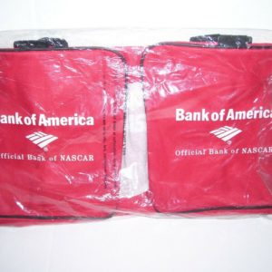 NASCAR LOGO COLLECTIBLE GYM DUFFLE BANK OF AMERICA BAG