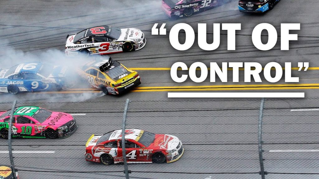 The Time NASCAR Lost Control of a Race