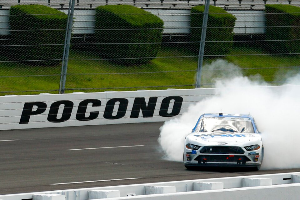 Here's the Penalty report from Pocono Raceway
