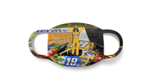 """Kyle Busch """"Champ"""" Anti Pollution Face Mask"""