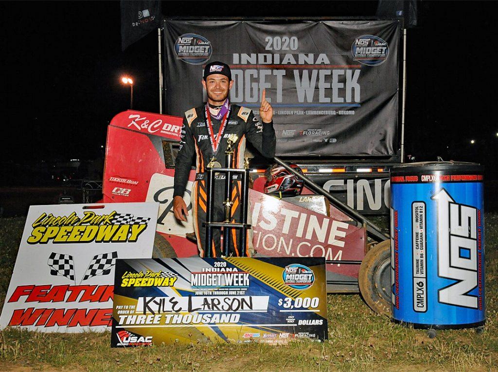 Kyle larson winning streak
