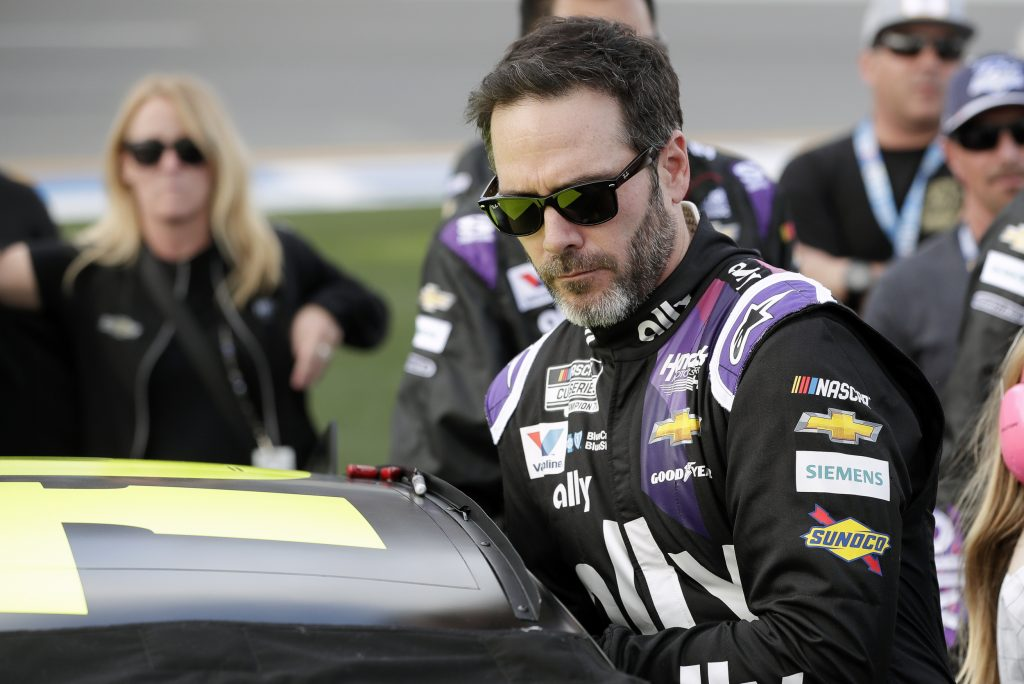 jimmie johnson indy 500