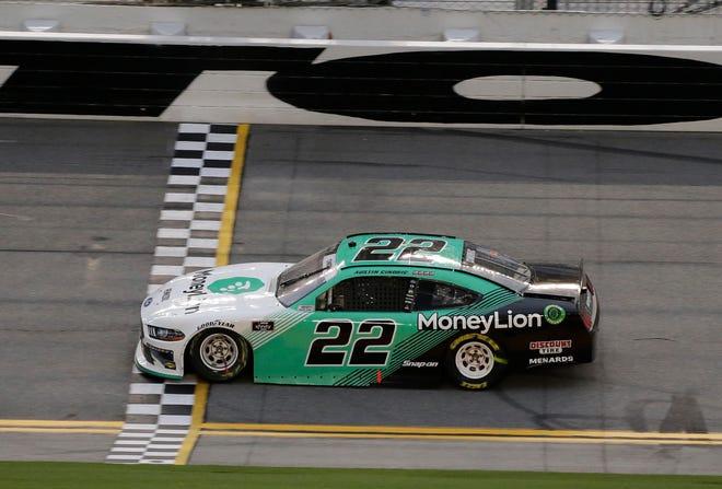 Austin Cindric Daytona win