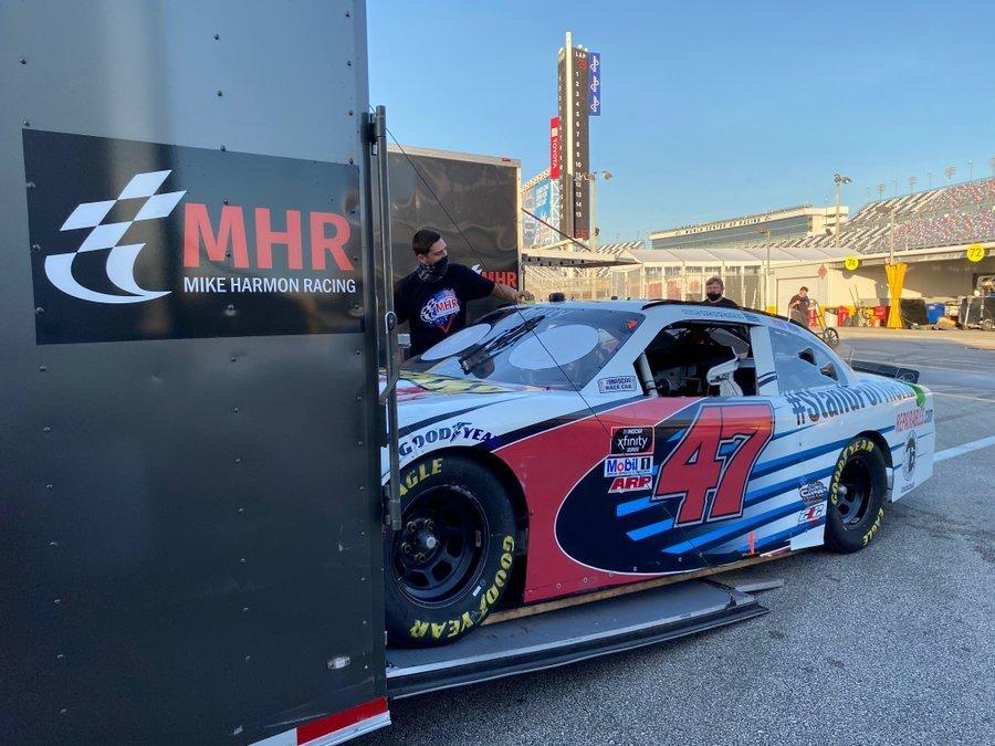 Car stolen NASCAR