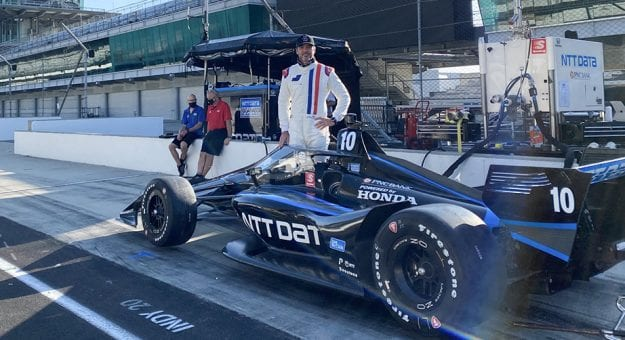 Jimmie Johnson indy 500 2021