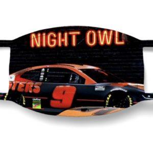 Chase Elliott Night Owl Face Mask