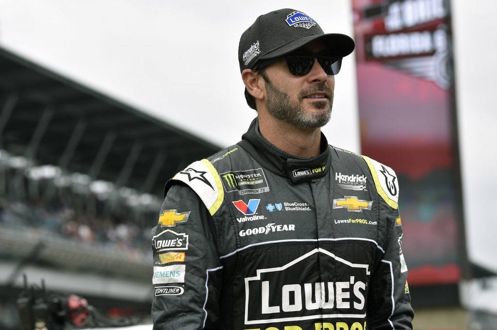 HMS welcomes Jimmie Johnson on board to take up possible role