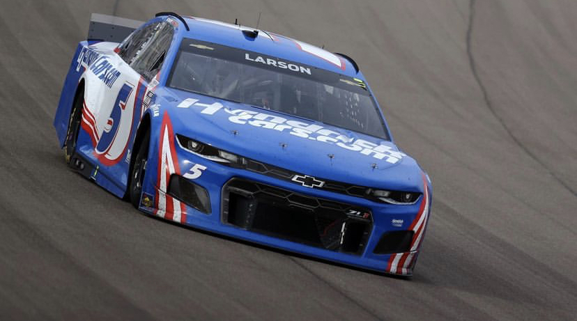 Flat tire halts Kyle Larson NASCAR record with less than a lap to go at Pocono