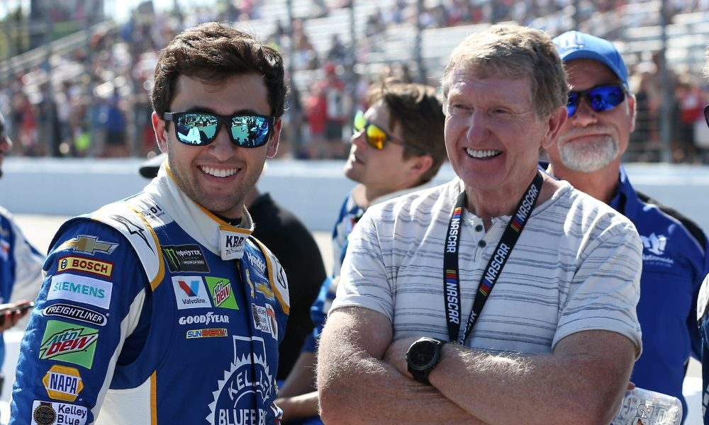 Chase Elliott to compete in the SRX Series, racing against his father Bill Elliott for the second time ever