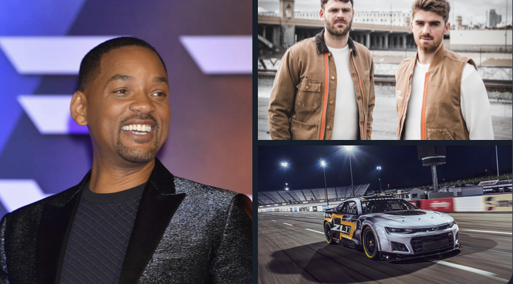 Actor Will Smith collaborate with NASCAR for romantic comedy