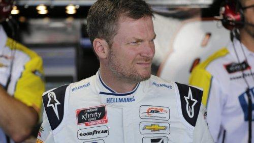 Dale Earnhardt Jr. NASCAR Xfinity race